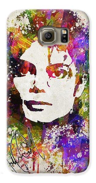 Michael Jackson In Color Galaxy S6 Case