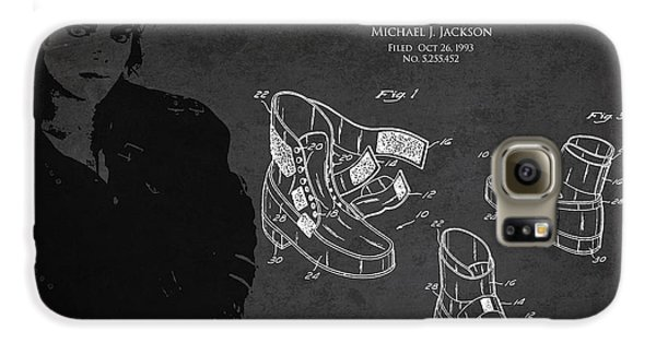Michael Jackson Patent Galaxy S6 Case by Aged Pixel
