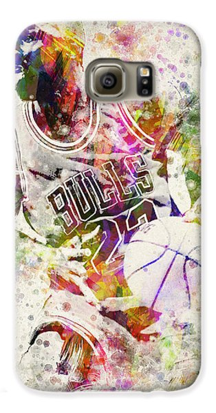 Michael Jordan Galaxy S6 Case by Aged Pixel