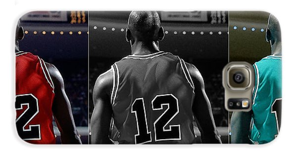 Michael Jordan Galaxy S6 Case by Marvin Blaine