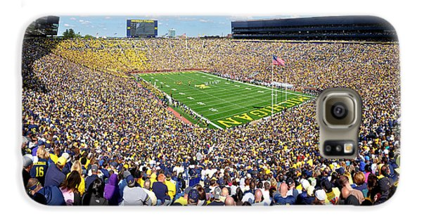 Michigan Stadium - Wolverines Galaxy S6 Case