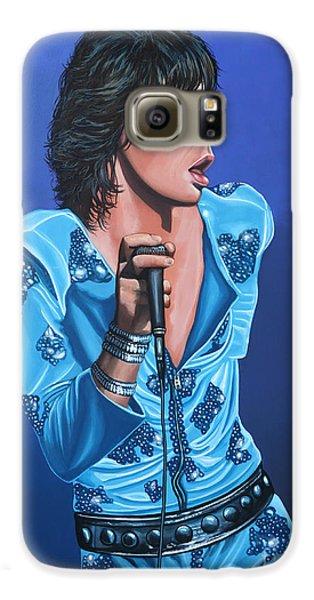 Musicians Galaxy S6 Case - Mick Jagger by Paul Meijering