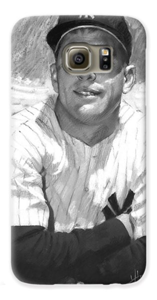Mickey Mantle Galaxy S6 Case by Viola El