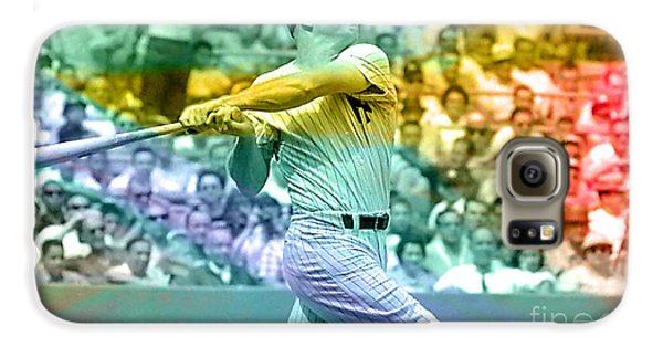 Mickey Mantle Galaxy S6 Case by Marvin Blaine
