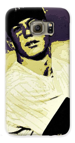 Mickey Mantle Poster Art Galaxy S6 Case