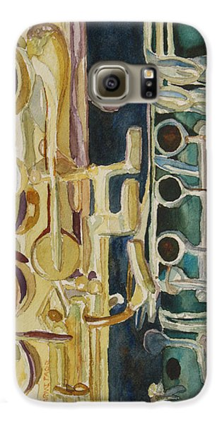 Midnight Duet Galaxy S6 Case by Jenny Armitage