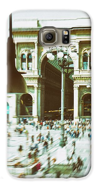 Galaxy S6 Case featuring the photograph Milan Gallery by Silvia Ganora