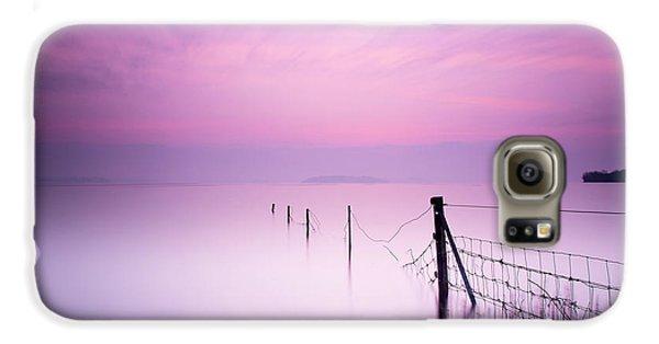 Colours Galaxy S6 Case - Milky Pink by Kieran O Mahony