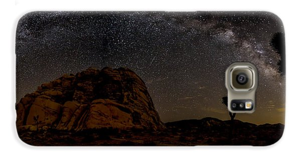 Milky Way Over Joshua Tree Galaxy S6 Case