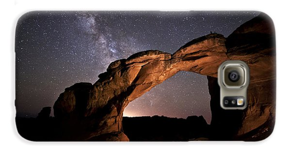 Milkyway Over Broken Arch Galaxy S6 Case
