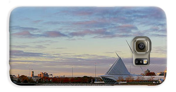 Galaxy S6 Case featuring the photograph Milwaukee At Sunrise  by Ricky L Jones