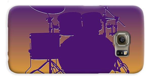 Minnesota Vikings Drum Set Galaxy S6 Case by Joe Hamilton