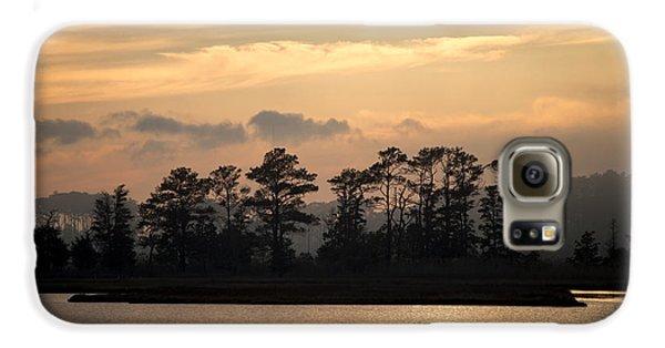 Misty Island Of Assawoman Bay Galaxy S6 Case