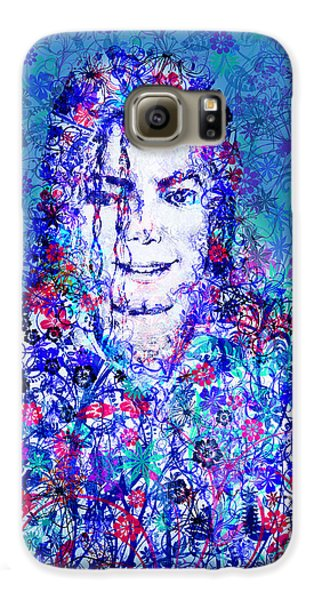 Mj Floral Version 2 Galaxy S6 Case