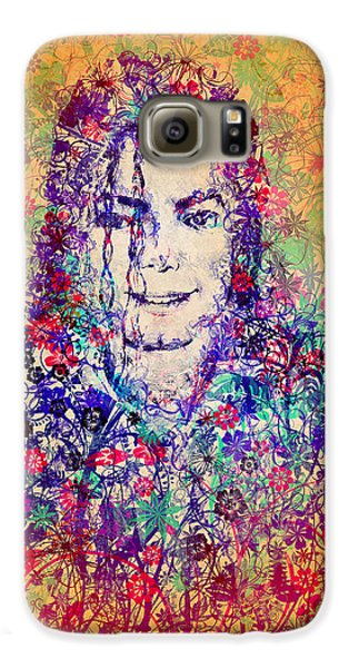 Mj Floral Version 3 Galaxy S6 Case