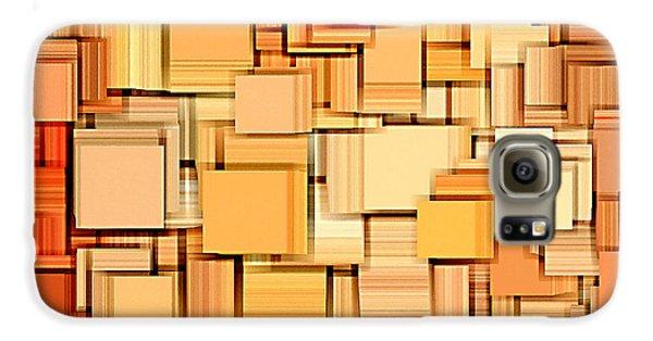 Modern Abstract Xvi Galaxy S6 Case by Lourry Legarde