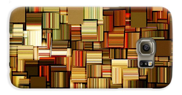 Modern Abstract Xxiii Galaxy S6 Case by Lourry Legarde