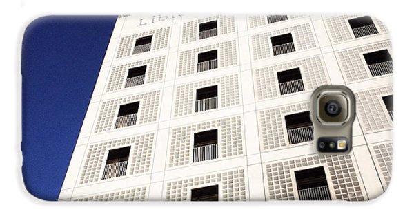Modern Architecture City Library Stuttgart Galaxy S6 Case by Matthias Hauser