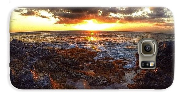 Follow Galaxy S6 Case - Molokai Sunset by Brian Governale