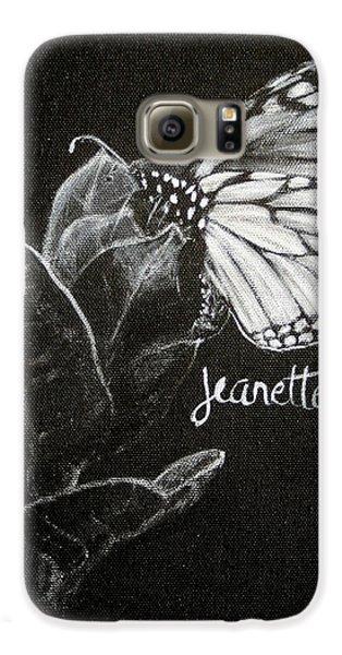 Monarch Butterfly On Milkweed Galaxy S6 Case