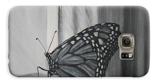 Monarch In The Window Galaxy S6 Case