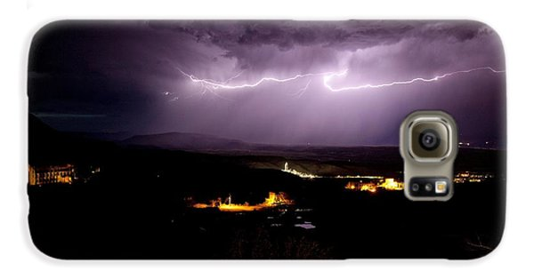 Monsoon Horizontal Lightning Galaxy S6 Case