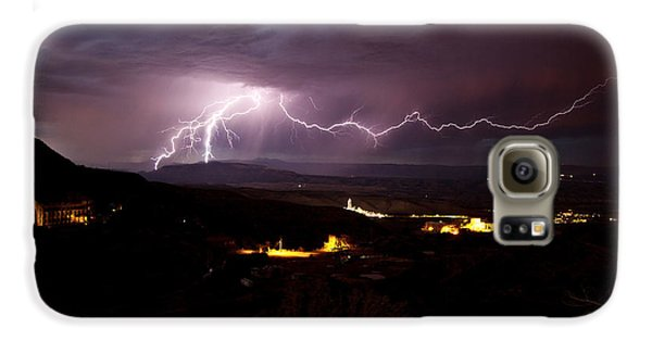 Monsoon Lightning In Jerome Az Galaxy S6 Case