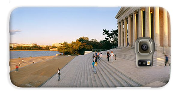Monument At The Riverside, Jefferson Galaxy S6 Case by Panoramic Images