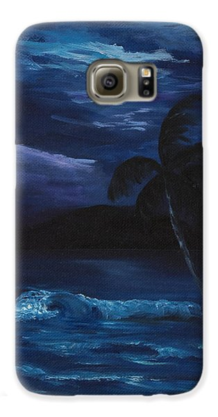 Moon Light Tropics Galaxy S6 Case