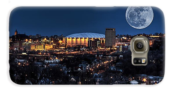Moon Over The Carrier Dome Galaxy S6 Case