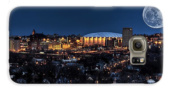 Moon Over The Carrier Dome Galaxy S6 Case by Everet Regal