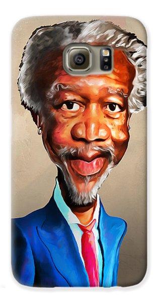Voodoo Galaxy S6 Case - Morgan Freeman by Anthony Mwangi
