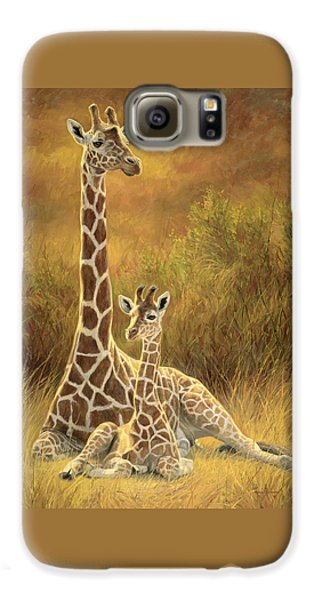 Mammals Galaxy S6 Case - Mother And Son by Lucie Bilodeau