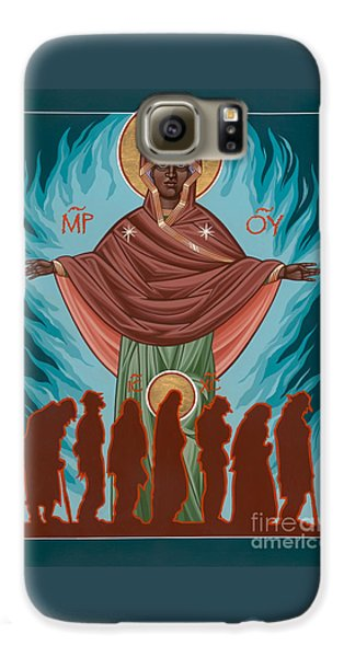 Mother Of Sacred Activism With Eichenberg's Christ Of The Breadline Galaxy S6 Case