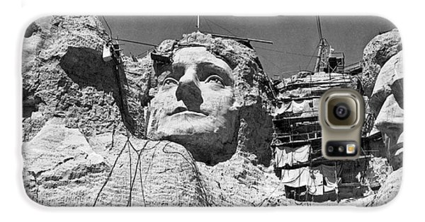 Mount Rushmore In South Dakota Galaxy S6 Case by Underwood Archives