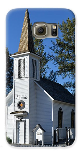 Galaxy S6 Case featuring the photograph Mountain Chapel by Anthony Baatz