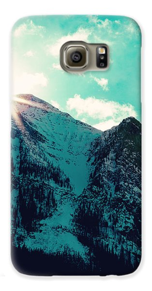 Mountain Starburst Galaxy S6 Case by Kim Fearheiley