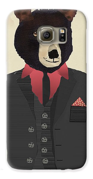 Mr Grizzly Bear Galaxy S6 Case