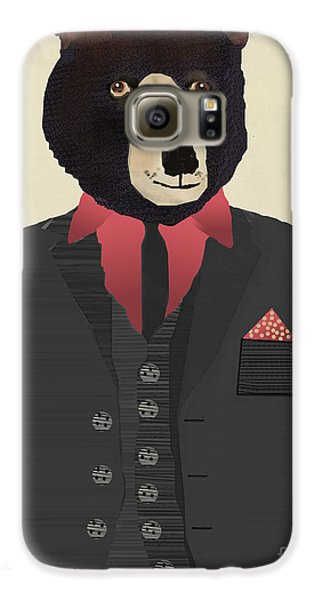 Mr Grizzly Galaxy S6 Case