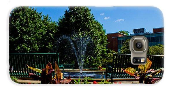 Msu Water Fountain Galaxy S6 Case by John McGraw