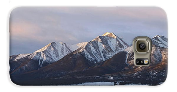 Mt. Princeton Panorama Galaxy S6 Case by Aaron Spong