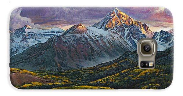 Mt. Sneffels Galaxy S6 Case