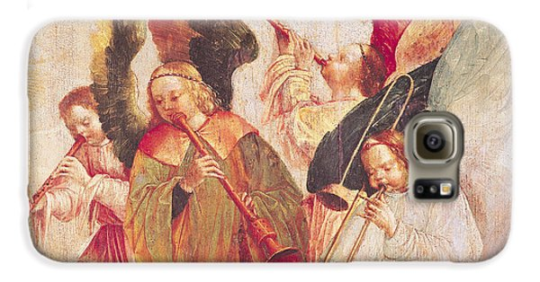 Trombone Galaxy S6 Case - Musical Angels, Detail From The Assumption Of The Virgin by Taborda Vlame Frey Carlos