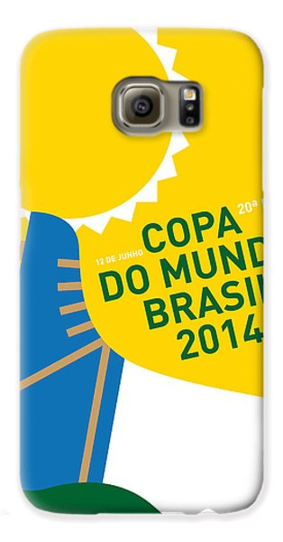 My 2014 World Cup Soccer Brazil - Rio Minimal Poster Galaxy S6 Case