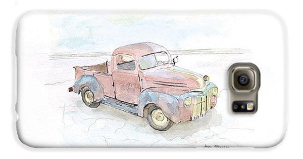 Truck Galaxy S6 Case - My Favorite Truck by Joan Sharron