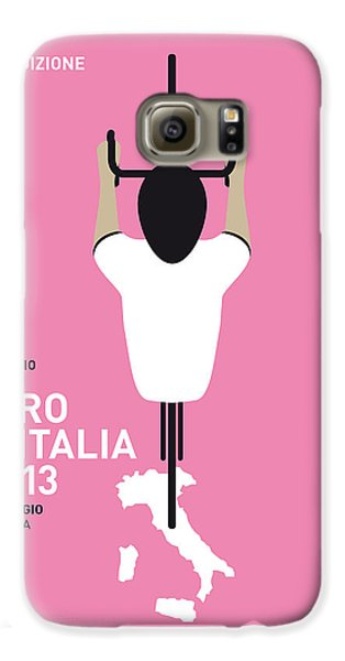 Transportation Galaxy S6 Case - My Giro D'italia Minimal Poster by Chungkong Art