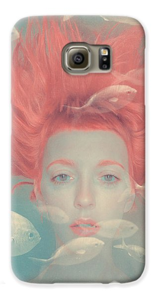 My Imaginary Fishes Galaxy S6 Case