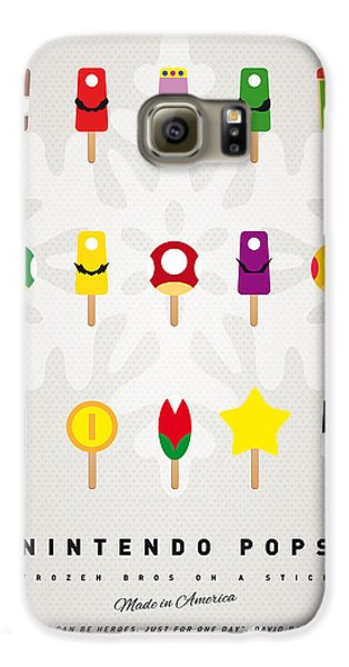 My Mario Ice Pop - Univers Galaxy S6 Case by Chungkong Art