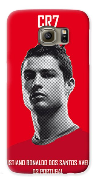 My Ronaldo Soccer Legend Poster Galaxy S6 Case