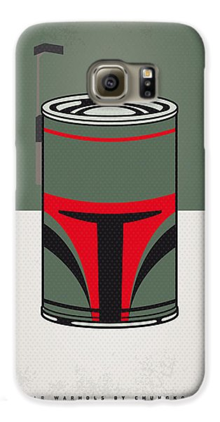 My Star Warhols Boba Fett Minimal Can Poster Galaxy S6 Case by Chungkong Art